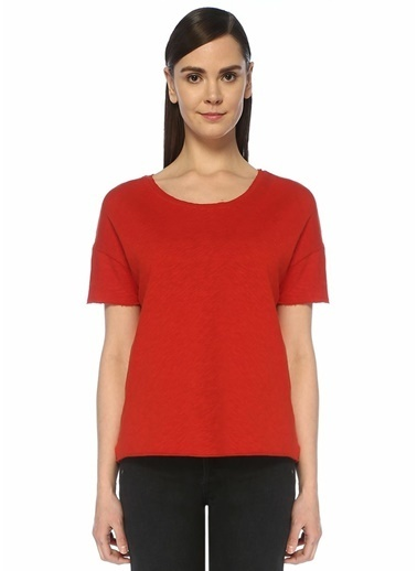 American Vintage Tişört Kırmızı
